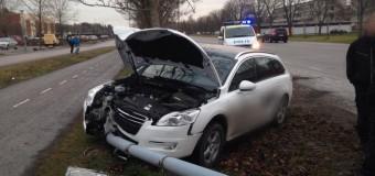 Trafikolycka vid Slagsta