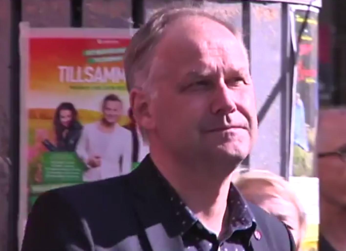 Sjöstedt gästade Eskilstuna