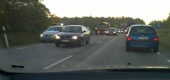 Trafikolycka i Kvicksund